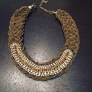 Aldo Braided Gorgeous Choker Style Necklace